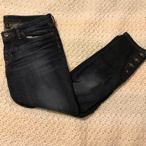 Gap button cuff jeans